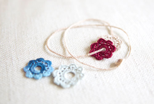 Tiny Crochet Flowers Occasional Crafter