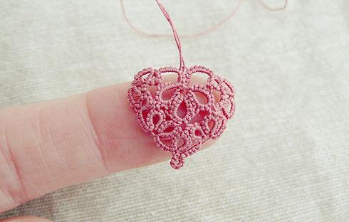 Heart finger tip