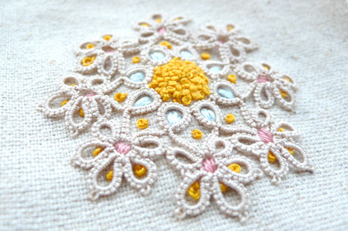 Embroider & tatting