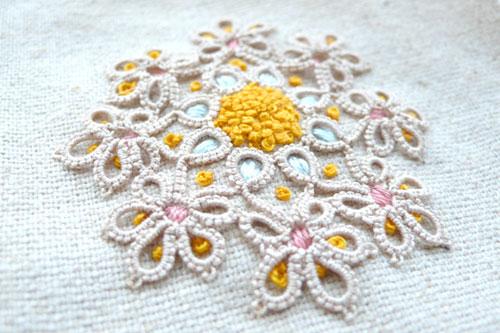 Embroider & tatting