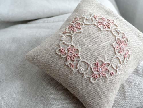 Lavender bag pink